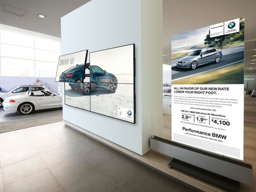 LCD Video Wall | High Resolution LCD Display | Video Wall Systems